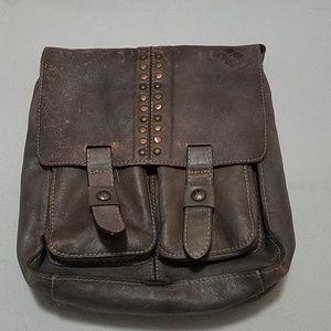 Distressed Vintage Armeno Messenger Bag